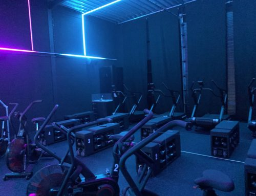 LED – Geluidsinstallatie en Touchscreen Urban Gym Almere